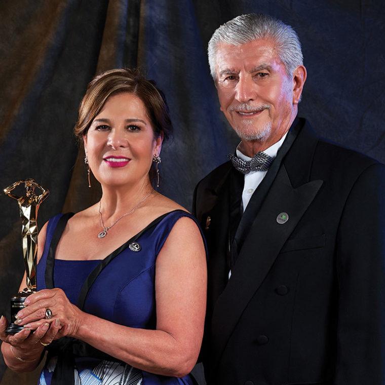 Raquel Cortes and Abraham Benitez